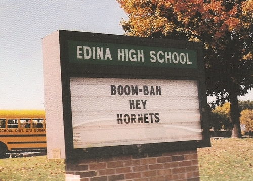 our alma mater...GO HORNETS!